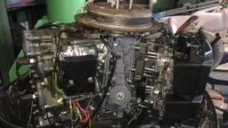 Título do anúncio: Motor yamaha 2008 de 115 HP 2 tempos
