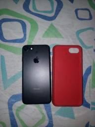 Título do anúncio: iPhone 7 black 32gb