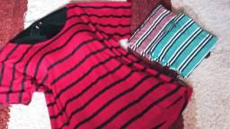 Trio de blusas plus size!