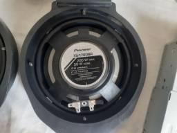 Jogo 4 alto falantes pioneer 6 polegadas Ts-1760br 200W
