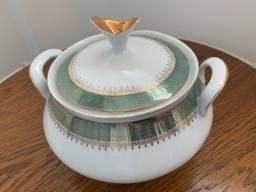 Sopeira de porcelana Steatita antiga