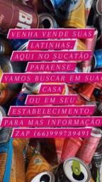 Título do anúncio: Latinhas
