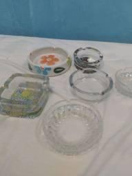 Cinzeiros de vidro