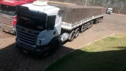 Conjunto Scania R440 Optcruiser 13/13 + Bitrenzao 3+3 Guerra 13/13 Pra Desapegar - 2013