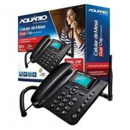 Telefone Celular Rural Quadriband Aquario Ca42 Dual Chip - Aceito cartão