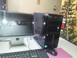 Computador Asus dual core + Led de 16 ultra slim