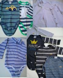 Roupas de bebe de 0 a 6 meses (48 itens)