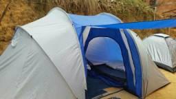 Barraca de acampar para oito pessoas