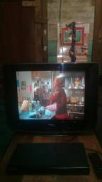 "Tv philco 21""tela plana ultra slim"