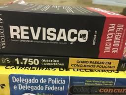 Vende-se combo de livros pra concursos policiais