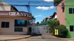 Residencial Granville, casa com 2/4, condomínio fechado, centro de Várzea Grande