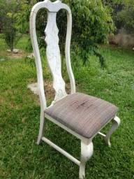 Cadeira madeira maciça para restaurar