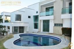 Linda Casa no Alphaville Fortaleza com 4 Suítes, piscina privativa, e garagem subsolo