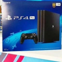 Playstation 4 pro 1tb com nota e garantia sony 1 ano
