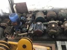 Motores e peças de maquinas