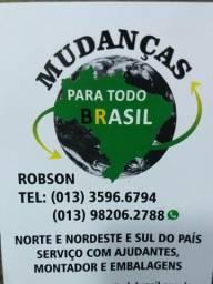 Transporte de mudanças para todo Brasil