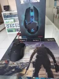 Mouse Gamer soldado 6DX ( Loja na Cohab)-Total Segurança na Sua Compra. Adquira Já