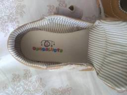 Sapato infantil caramelo