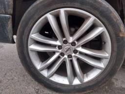 Jogo rodas c pneus aro 20 para frontier e dakota