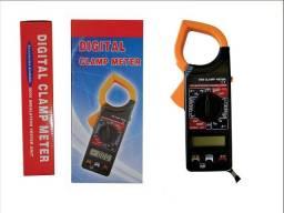 Título do anúncio: Alicate Amperímetro Digital Multimetro Clamp Meter