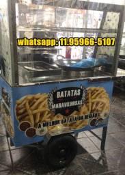 Carrinho de paste batata frita bragança