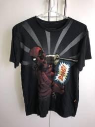 Camiseta Deadpool Marvel Piticas M