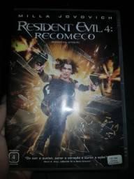 DVD Filme Resident Evil 4: Recomeço