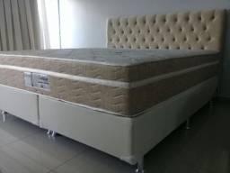 ::: Cama Box Pelmex Colchao Super King 193x203 Molas Ensacadas Pocket