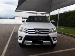 Hillux SRV 4x4 diesel 17.800km novinha - 2018