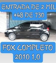 Fox completo 2010 1.0 Entrada de 2 mil +48 parcelas de R$730 - 2010