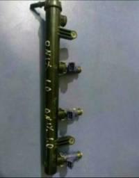 Kit flauta e bico injetor Chevrolet Onix e Prisma 1.0
