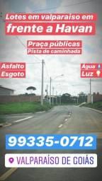 LOTE - ( No Valparaiso ) financiados R$ 447