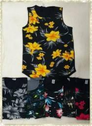 Camisa regata florida (ATACADO)!!!