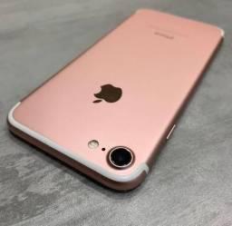 IPhone 7 - 128 GB - Rosa - Novinho - Sem Detalhes - 03 Meses De Garantia