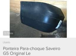 Ponteira Esquerda Parachoque trás VW Saveiro G5 / G6 Original