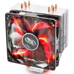 Cooler Deepcool Gammaxx 400 Red Led Dp-mch4-gmx400rd