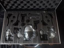 Kit De Microfone Lyco Ldk-7 Com 7 Peças