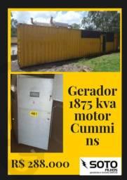 Grupo Gerador Cummins 1875 kva