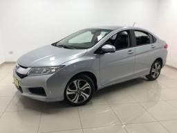 2441 - Honda City LX 1.5 17/17 Prata