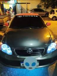 Corolla XEI 2007 manual com GNV
