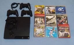 Playstation 3 Slim em Ótimo Estado!