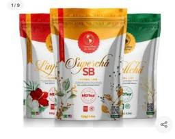 Combo Super Chá Sb+linfachá +sbeltchá - Nova Embalagem