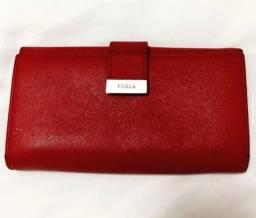 Carteira Furla Vermelha Original