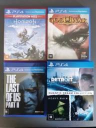 The Last Of Us 2, Quantic Dream Colleciton, Horizon, GOW 3 (PS4)