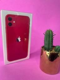 Título do anúncio: iPhone 11 128GB red ( 1 ano de garantia )