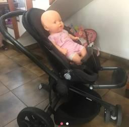Carrinho  de bebe Quinny usado