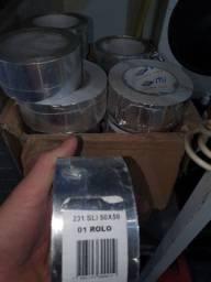 Fita alumínio para isolamento de temperatura,dutos de ar