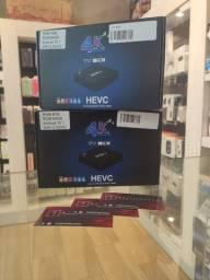 Título do anúncio: Tv box Android 10.1 64gb 4 ram Novo com garantia ( A pronta entrega )