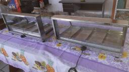 Vendo duas estufas .ligar * voltagem 220 v