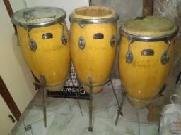 Percussão trio
